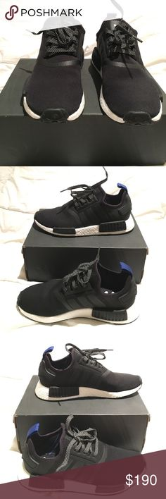 adidas NMD_R1 Original- black SoldOut!! Brand New NMD_R1 in black Men's Running Shoes.  Limited Edition Size 8 1/2 Authentic stood in line in the hot sun at the adidas store in LA on release date Oct 1, 2016. Adidas Runner Boost NMD Men's Running Shoe is