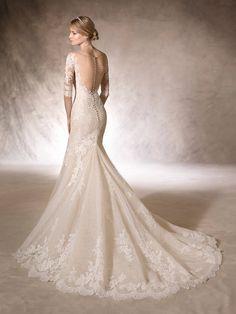 abito da sposa scollo a cuore hito