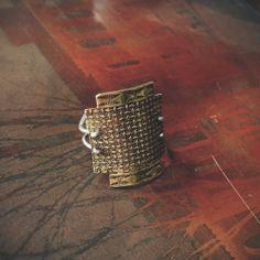 Nefertiti Shield Ring // Rackk and Ruin