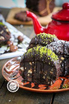Turkish Recipes, Ethnic Recipes, Truffles, Chocolate Cake, Acai Bowl, Recipies, Food And Drink, Breakfast, Desserts