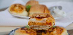 Pizzové slimáky, na ktoré sa vám budú zbiehať slinky - Akčné ženy Salmon Burgers, Ethnic Recipes, Food, Basket, Essen, Meals, Yemek, Eten