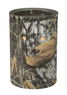 "*NEW FALL 2013*-""Mossy Oak"" Check out the new licensed Mossy Oak warmer. I'm sure this will be a hit this holiday season! Camo, Browning, western, decor, fireplace, girl, fashion, guys, outdoor, cozy, romantic, wedding, gifts, fall, leaves, night, light, theme http://www.lovingsomescents.com/"