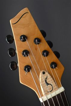 soloway Gosling -  Electric Guitar - Custom Inlaid Truss Rod Cover