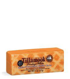 Tillamook vintage white smoked extra sharp cheddar cheese