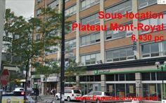 Sous location bureau Plateau Mont Royal coin Saint Laurent 6430 pc Suble...http://bureau-style-loft-plateau-mont-royal.ca/