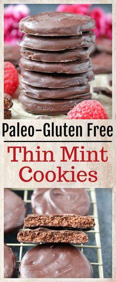 Paleo Thin Mint Cookies!!! - Low Recipe