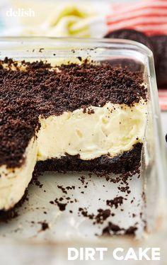 Dirt Cake # Dirt Cake Is Actually The Best Dessert EverDelish – Lebensmittel Ideen Food Cakes, Cupcake Cakes, Cupcakes, Dirt Cake Recipes, Oreo Cheesecake Recipes, Köstliche Desserts, Pudding Desserts, Oreo Pudding, Gastronomia