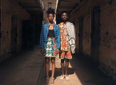 Ghanaian inspired fashion by YEVU