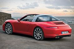 2014 Porsche 911 Targa; retro looks and fast technology.