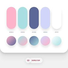 Beautiful colour palettes for your next UI design project! Flat Color Palette, Pantone Colour Palettes, Colour Pallette, Pantone Color, Colour Schemes, Color Patterns, Graphisches Design, Graphic Design, Color Psychology