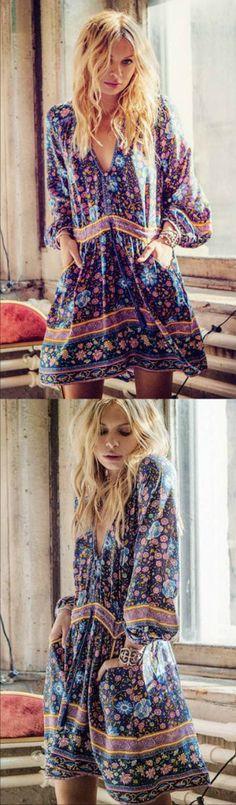 ヅ❤ Outfit of the Day ! A Bohemian Floral Tweed Dress as featured PASABOHO ❤️ boho dress :: gypsy style :: hippie chic :: outfit ideas :: boho clothing :: free spirit :: fashion trend :: embroidered :: flowers :: floral :: summer :: fabulous :: love :: street style :: fashion style :: boho style :: bohemian :: modern vintage :: ethnic tribal :: embroidery dress :: skirt :: cardigans :: summer dress :: boho chic :: boho outfit
