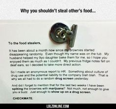 Never Mess With Other People's Food #lol #haha #funny