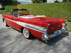 1957 Pontiac Chieftain Star Chief Convertible