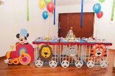 Dumbo Birthday Party, Circus Birthday, 2nd Birthday, Birthday Parties, Birthday Cakes, Carnival Themed Party, Party Themes, Carnival Parties, Party Ideas