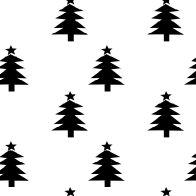 MeinLilaPark – digital freebies: Free printable Christmas scrapbooking papers in black'n white – ausdruckbares Geschenkpapier