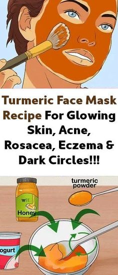 Turmeric Face Mask Recipe For Glowing Skin, Acne, Rosacea, Eczema & Dark Circles! Turmeric Face Mask Recipe for Radiant Skin, … Homemade Face Masks, Homemade Skin Care, Makeup Tricks, Diy Turmeric Face Mask, Turmeric For Skin, Turmeric Health, Tumeric Face, Skin Care Routine For 20s, Acne Skin