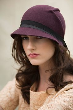 The Arrow Cloche Hat by MaggieMowbrayHats on Etsy, £85.00