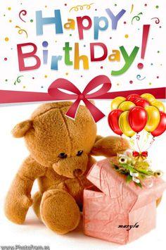 Happy Birthday Happy Birthday To Me Quotes, Today Is Your Birthday, Happy Birthday Kids, Happy Birthday Friend, Birthday Wishes Quotes, Happy Birthday Pictures, Happy Birthday Messages, Happy Birthday Greetings, Happy Bird Day