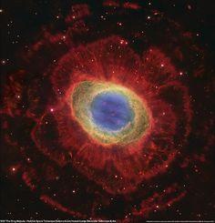 M57: Hubble Space Telescope/Subaru Telescope/Large Binocul… | Flickr