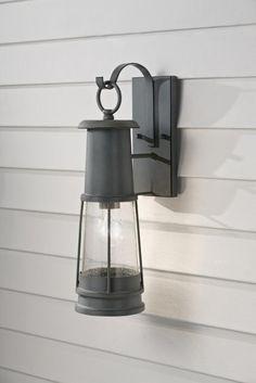 One Light Storm Cloud Clear Seeded Glass Wall Lantern : JLZG | Hansen Lighting