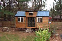 Tiny house cedar exterior