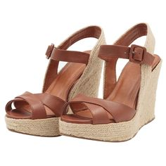 Wedge Sandals, Wedge Shoes, Shoes Heels, Pretty Shoes, Beautiful Shoes, Wedge Wedding Shoes, Gladiator Boots, Cute Heels, Designer Heels