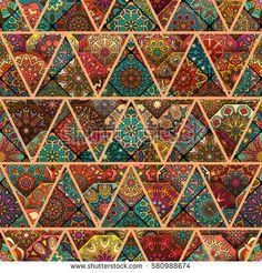 Ambesonne Historical Headscarf Old Moroccan Motif Hijab Scarf