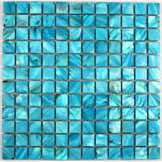 1000 images about mosaique bleu on pinterest credence for Carrelage bleu