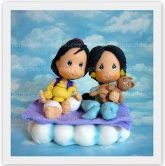 https://flic.kr/p/9d1MyV   Aladin e Jasmine - topo de bolo   Bjs!  Pati patiolourenco@gmail.com