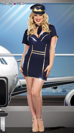Plus Size Up In The Air Costume
