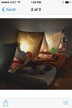 Montessori beds with tents