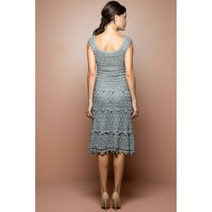 Sky Villeneuve Crochet Dress - Vanessa Montoro USA - vanessamontorolojausa