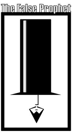 """Mike Michels kwam bij Plaatj.es met een schets voor een logo van zijn nieuwe project """"the False Prophet"""", of ik die misschien strak kon maken op de computer? Natuurlijk kan ik dat!  The False Prophet is een conceptuele social media presence, bedoeld om mensen bewust te maken over het zelf nadenken en het nemen van eigen verantwoordelijkheden. Dit wordt bereikt door het uitzenden van berichten en muziek via kanalen als Twitter,G+, YouTube en SoundCloud. Het logo word o.a. gedrukt ..."""