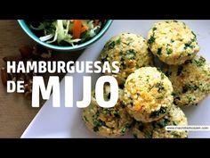 Pablito Martín - Recetas: Hamburguesa de mijo, ensalada raw y jugo detox - YouTube