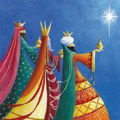 Alumbrados con una luz interior, conocieron que aquel astro los serviría de guía para encontrar al Mesías.