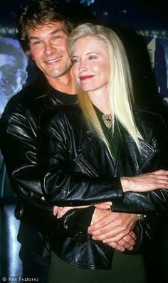 Patrick Swayze & Lisa Niemi