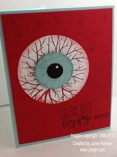 Sheltering Tree Halloween/Eyeball card (LOL)