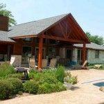 Custom Cedar Patio Cover in North Richland Hills TX by C3 Backyard Oasis LLC. Check us out at www.c3backyardoasis.com