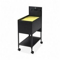 Lorell Mobile Standard File with Lock, 13-1/2 by 24-3/4 by 28-1/4-Inch, Black by Lorell. $82.41. All units are keyed alike. Design features a sliding cover, keylock to secure files, piano-hinge top and shelf storage on bottom. Design features a sliding cover, key lock to secure files, piano-hinge top and shelf storage on bottom. Economy file is designed for letter-size hanging folders (sold separately). Economy file is designed for letter-size hanging folders (...