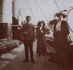 Nicholas II, Eleonor of Hesse and Empress Alexandra