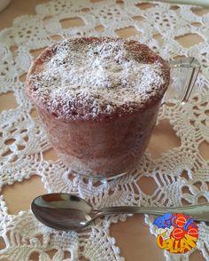 Mug cake variegata alla nutella
