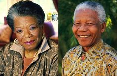 Maya Angelou Presents a Tribute Poem on Behalf of the American People to Nelson Mandela