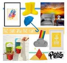 """the sun and the rain"" by redcandyuk ❤ liked on Polyvore featuring interior, interiors, interior design, home, home decor, interior decorating, sun, Home, rain and weather"