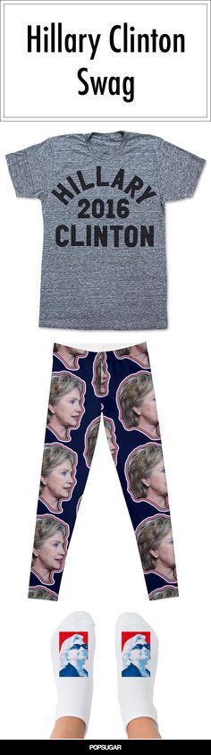 Are you ready for Hillary Clinton to run for president in 2016? It's happening, and her supporters couldn't be more excited. There's already a plethora of Hillary for president products to stockpile so you can show your support. Check out some of our favorite Hillary 2016 swag, from tank tops to magnets!