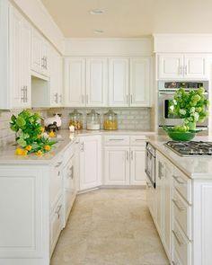 Beyaz mutfak-white kitchen