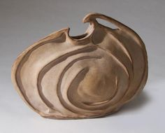 Jenny Floch,  Slump Mold Pot  slump molded stoneware