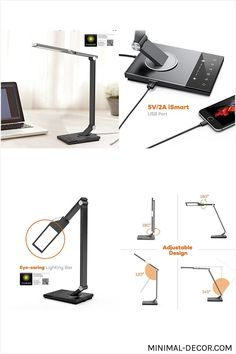 SUNBEAM LED DESK LAMP OFFICE NIGHT LIGHT STUDIO HOME SCHOOL ENERGY LED 2 Pack