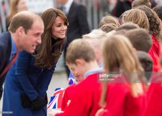 Prince William, Duke of Cambridge and Catherine, Duchess of Cambridge visit the original Royal Research Ship Discovery on October 23, 2015 in Dundee, Scotland.  (Photo by Mark Cuthbert/UK Press via Getty Images)