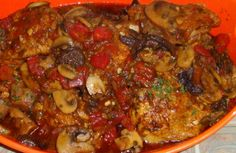 RED CHICKEN MARSALA recipe from @Every Day with Rachael Ray and can be found here: https://www.facebook.com/pages/Whats-for-Dinner-Tonight/333595563342539?ref=hl