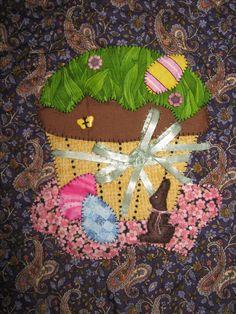 April Panel - Cupcake Quilt